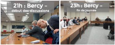 Négociations en direct avec Bercy